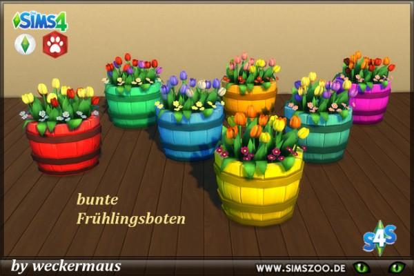 Blackys Sims 4 Zoo: Juicy barrel plants by weckermaus
