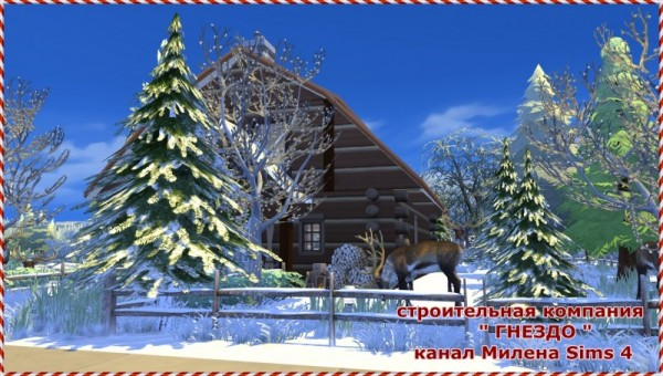 Sims 3 by Mulena: The house of Santa Claus
