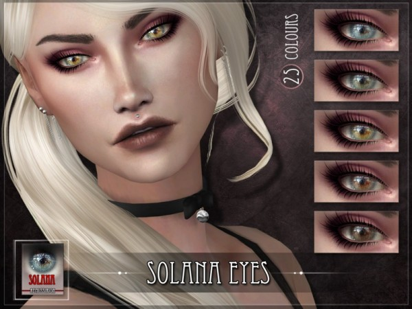 The Sims Resource: Solana Eyes by RemusSirion