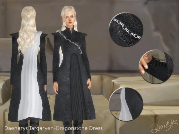 The Sims Resource: Dragonstone Dress by DarkNighTt