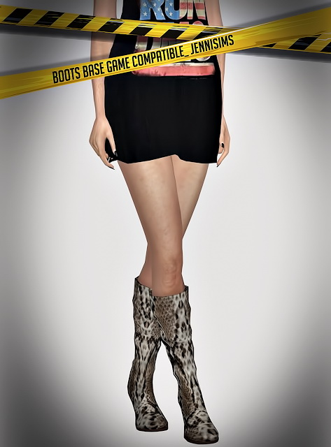 Jenni Sims: Boots Base Game compatible
