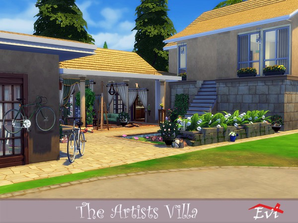 The Sims Resource: The Artists Villa by evi