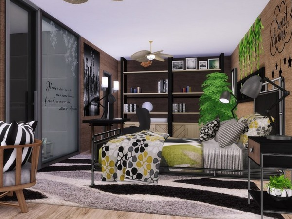 The Sims Resource: Modern Estate by MychQQQ