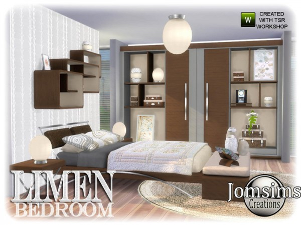 The Sims Resource: Limen bedroom by jomsims