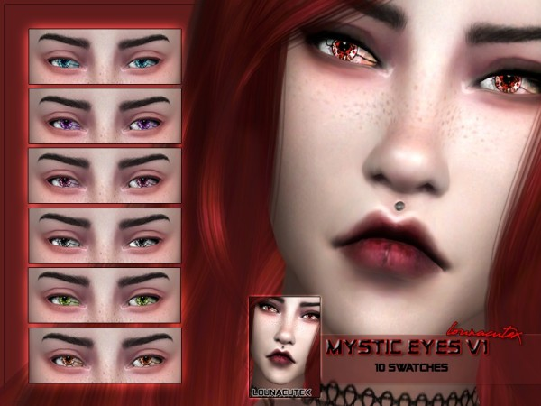 The Sims Resource: Mystic Eyes V1 by Louna