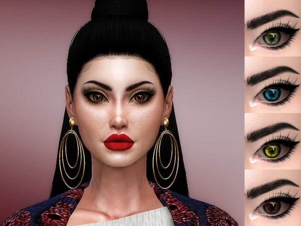 The Sims Resource: Miracel eyes by Sharareh
