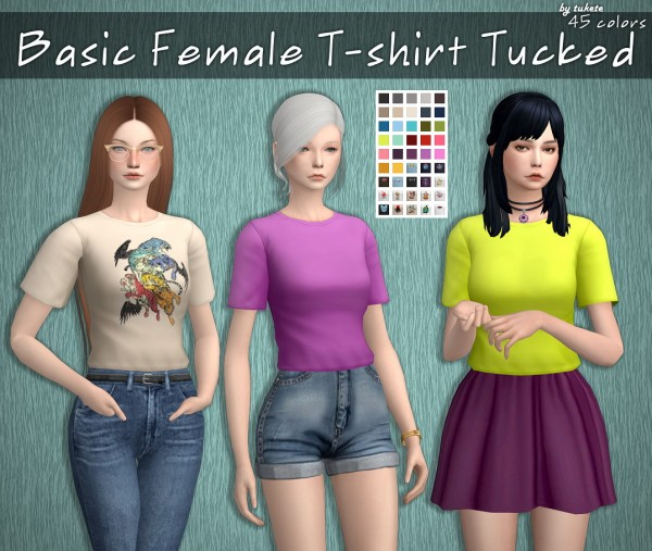 Tukete: Basic T shirts Set