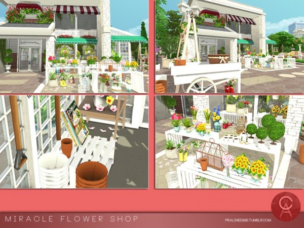The Sims Resource: Miracle Flower Shop by Pralinesims