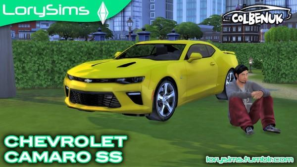 Lory Sims: Chevrolet Camaro SS
