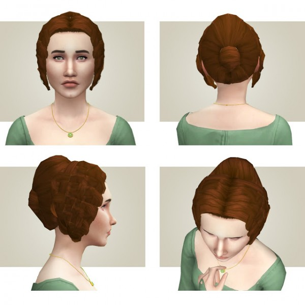 History Lovers Sims Blog: Regal regency hair