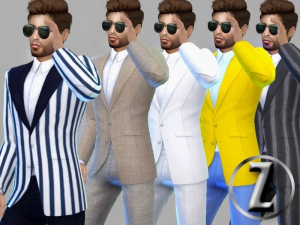 The Sims Resource: Stepping Out suit by ZitaRossouw