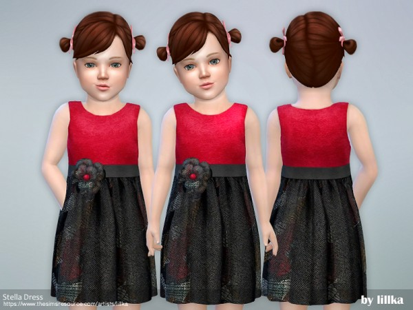 The Sims Resource: Stella Dress by lillka