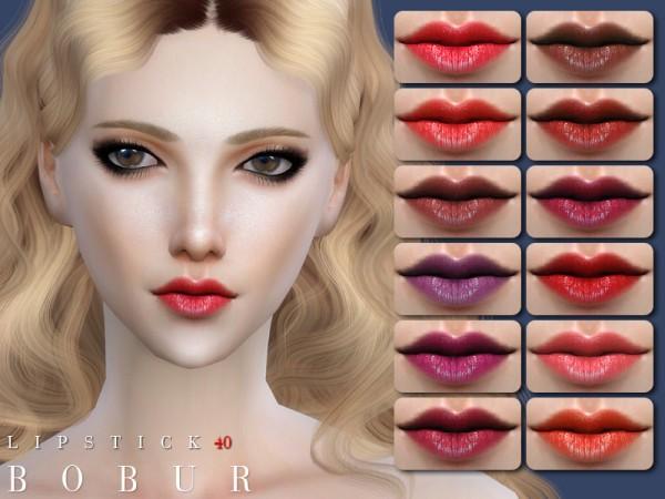 The Sims Resource: Bobur Lipstick 40 by Bobur3