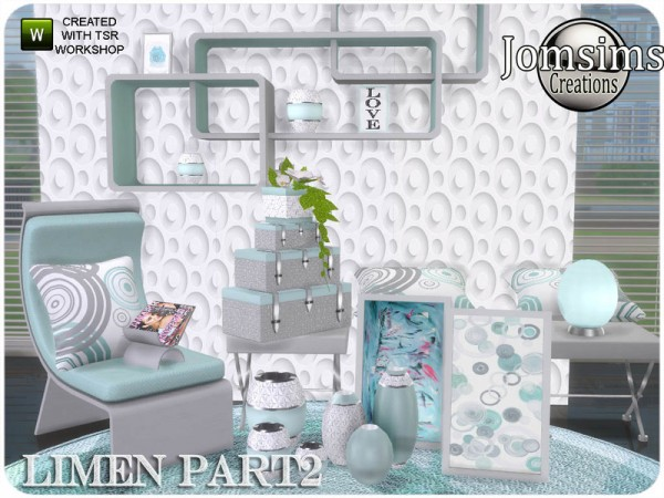 The Sims Resource: Limen bedroom part 2 by jomsims