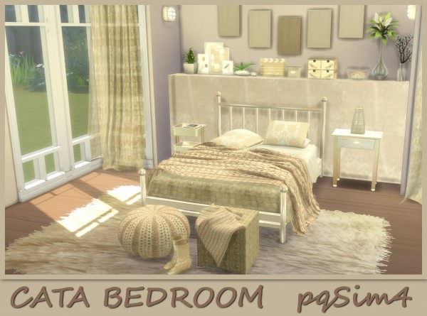 PQSims4: Cata bedroom