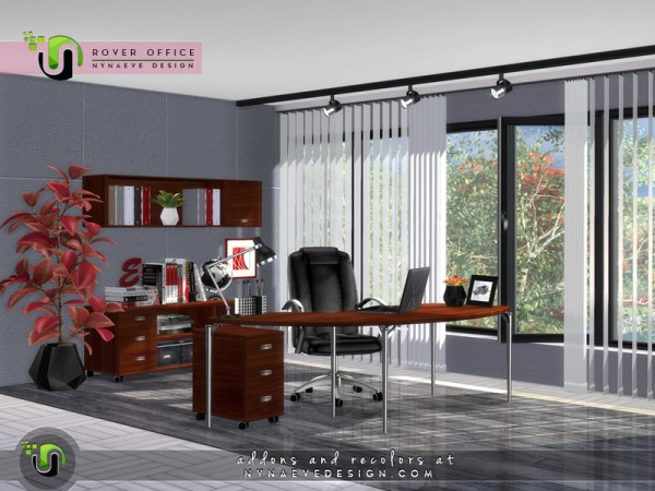 The Sims Resource: Rover Office by NynaeveDesign