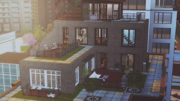 Ideassims4 art: 97 Penthouse Luna