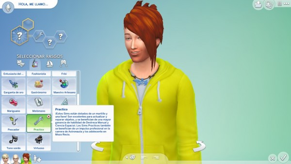 Mod The Sims: Handy Custom Trait by edespino