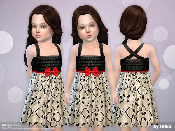 The Sims Resource: Juliana Dress by lillka