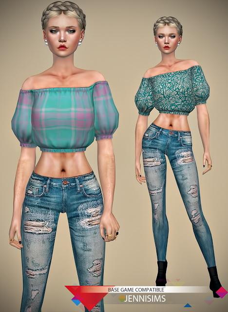 Jenni Sims: Blouse