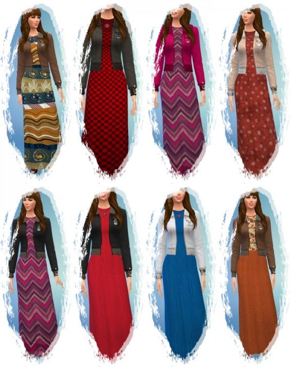 Birkschessimsblog: Winter Knitting Dress