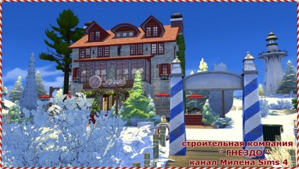 Sims 3 by Mulena: Hotel   bar Laguna