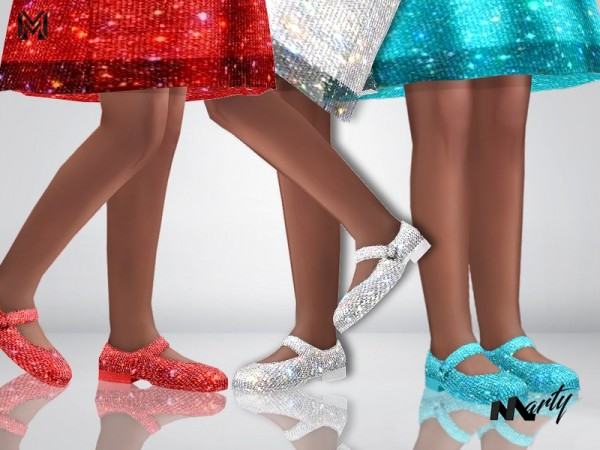 The Sims Resource: Child Sparkly shoes by MartyP