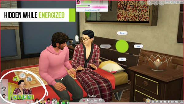 Mod The Sims: Tryfor Baby Interaction Hider by Foamimi