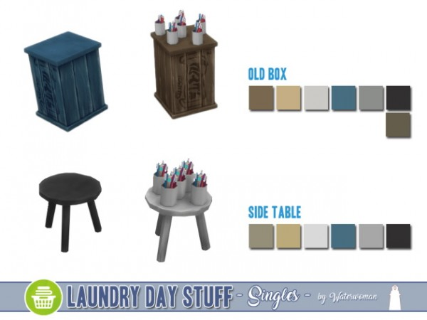 "Akisima Sims Blog: Laundry Day Stuff ""Singles"""