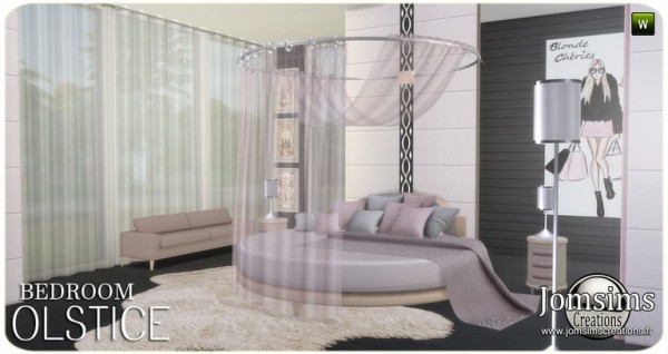 Jom Sims Creations: Olstice bedroom