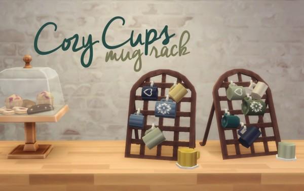 Hamburgercakes: Cozy Cups Mug Rack
