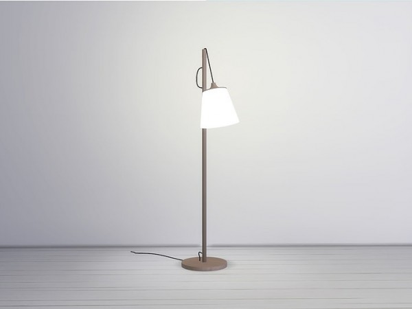 Meinkatz Creations: Pull floor lamp