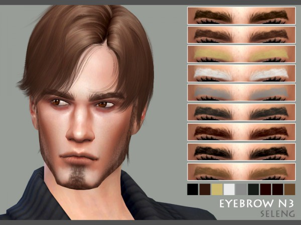 The Sims Resource: Eyebrows N3 by Seleng
