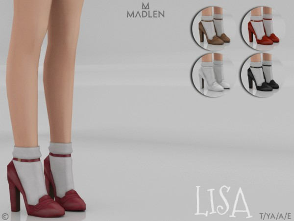 The Sims Resource: Madlen Lisa Shoes by MJ95