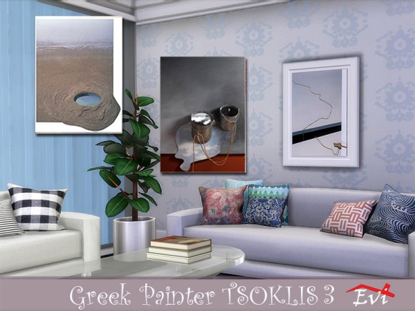 The Sims Resource: The Greek painter Tsoklis K3 by evi