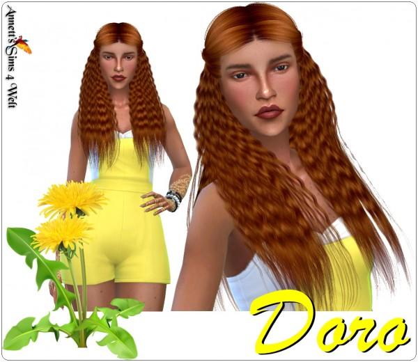 Annett`s Sims 4 Welt: Model Doro