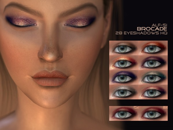 Alf Si: Eyeshadow 05 Brocade HQ