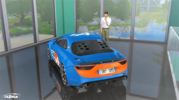 Lory Sims: Alpine Célébration Concept