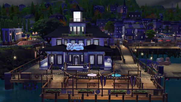 Ihelen Sims: Оn the pier by fatalist