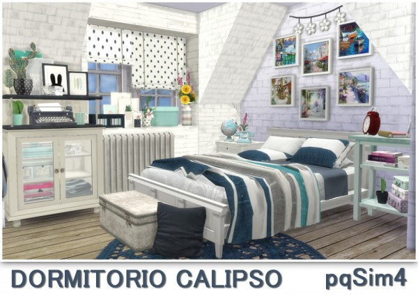 PQSims4: Calipso bedroom
