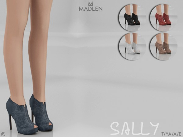 The Sims Resource Madlen Sally Boots By Mj95 Sims 4