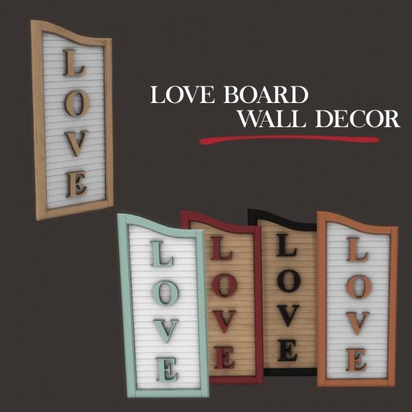 Leo 4 Sims: Love board
