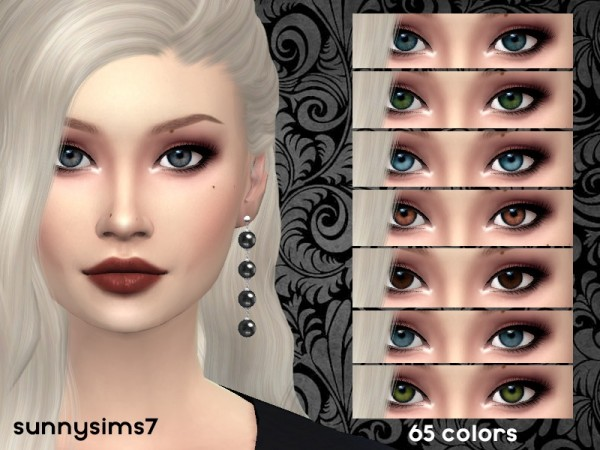 The Sims Resource: Eye set by SunnySims7