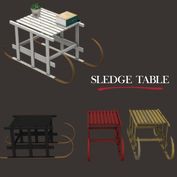 Leo 4 Sims: Sledge table
