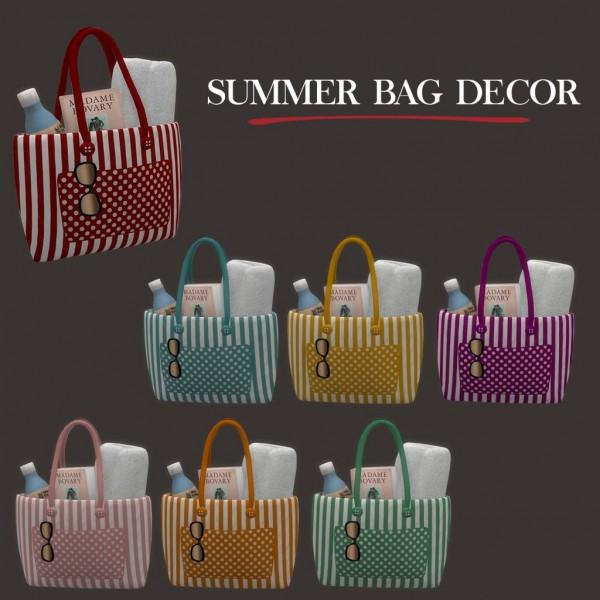 Leo 4 Sims: Cassandre Summer Bag