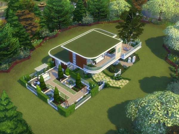 The Sims Resource: Sims Tranquil house by lenabubbles82