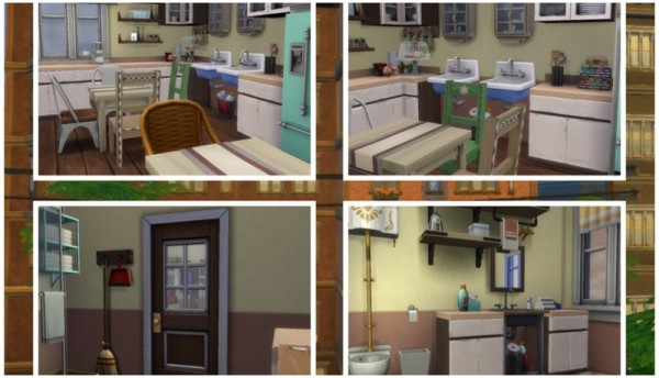 Sims 3 by Mulena: Communal apartment