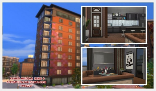 Sims 3 by Mulena: Apartment Bach