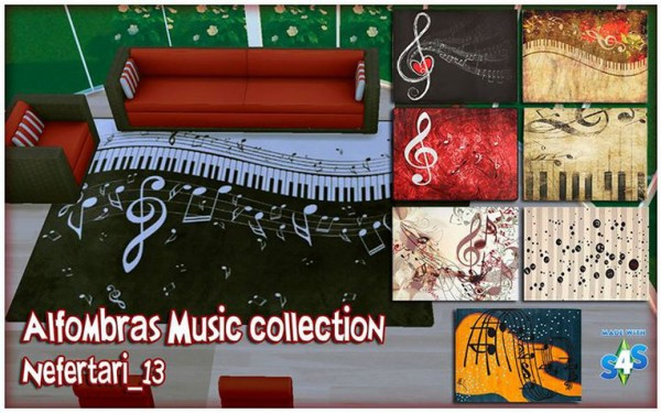 Nefertari 13: Alfombras Music Collection