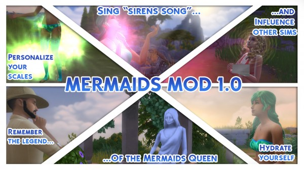 Mod The Sims: Mermaids Mod 1 by Nyx